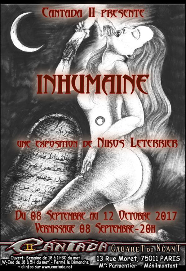 Inhumaine - Vernissage