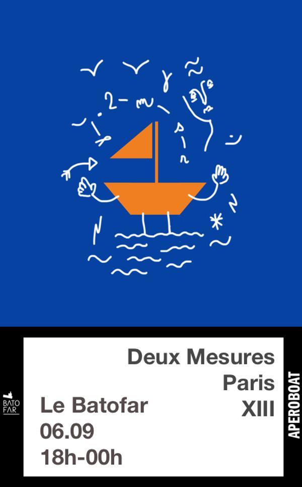 APEROBOAT # DEUX MESURES