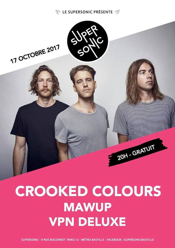 Crooked Colours • Mawup • VPN Deluxe / Supersonic - Free