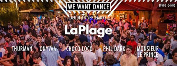 Closing Plage We Want Dance