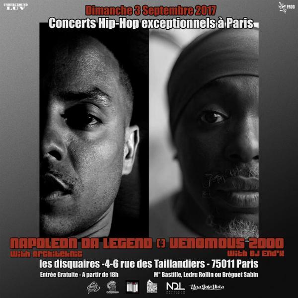 Napoleon Da Legend & Venomous 2000