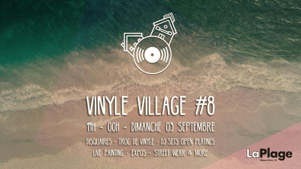 Vinyle Village #8 w/ Romain Dafalgang, Projecture, HFMN & more