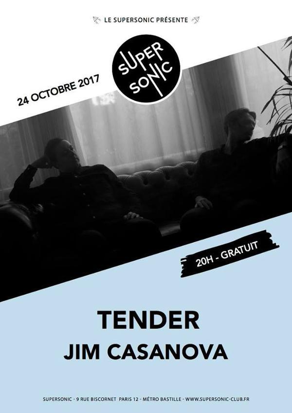 Tender • Jim Casanova / Supersonic - Free