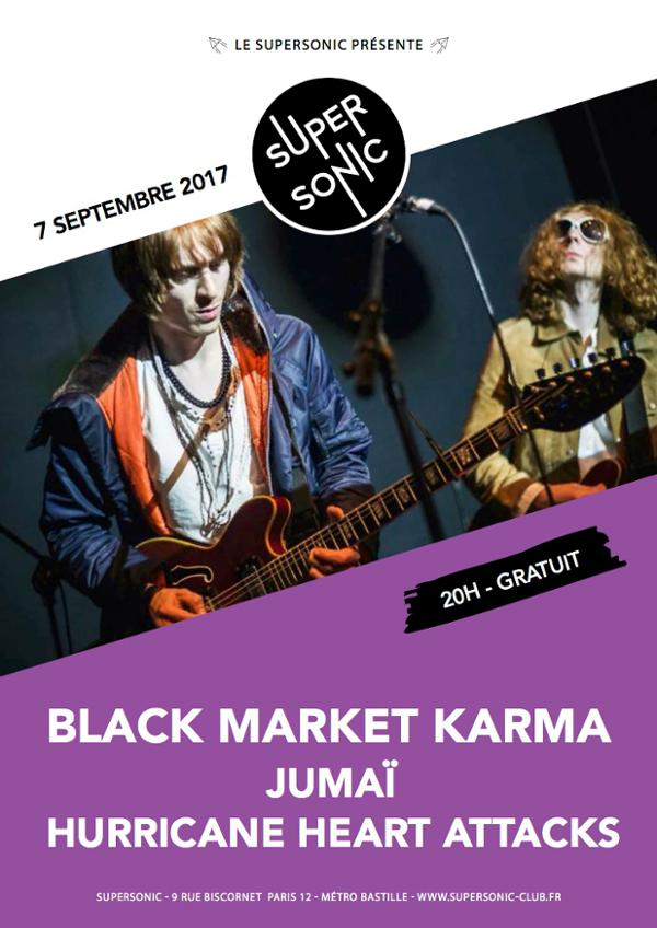 Black Market Karma • Jumaï • Hurricane Heart Attacks