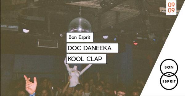 Bon Esprit invite Doc Daneeka & Kool Clap