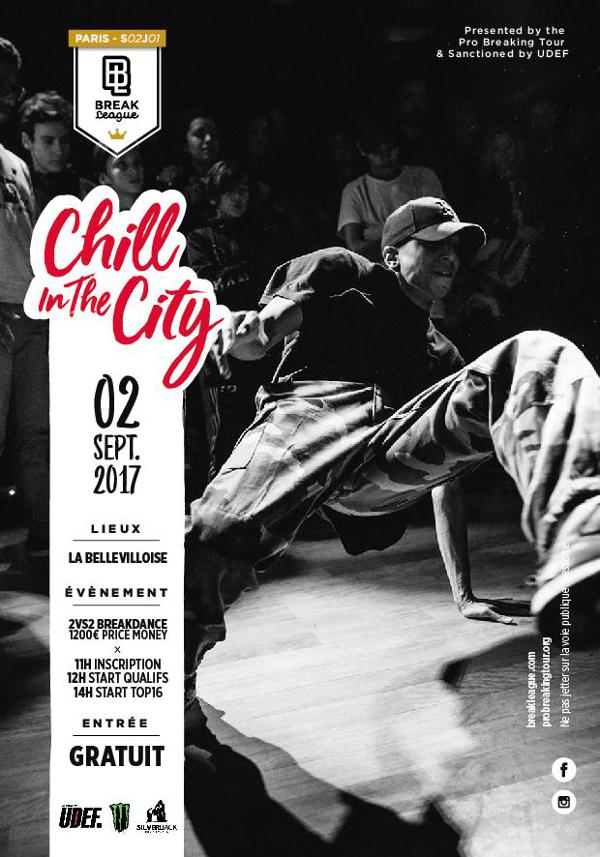 CHILL IN THE CITY - BREAKLEAGUE / LANCEMENT SAISON 2