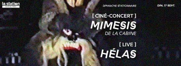 ciné-concert Mimesis par La Cabine + Hélas live