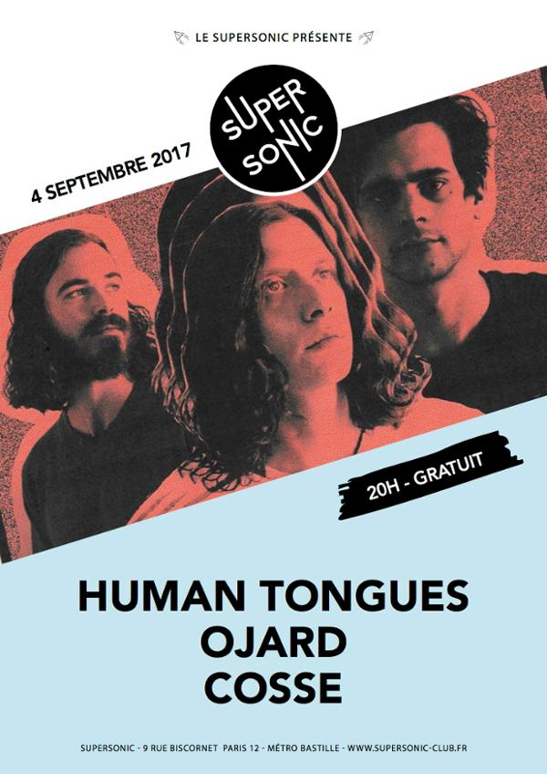 Human Tongues • Ojard • Cosse / Supersonic - Free