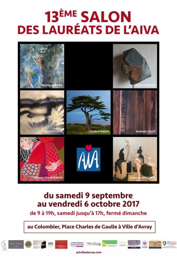 13ème SALON des LAUREATS de l'AIVA (Association des Artistes Indépendants de Ville-d'Avray)