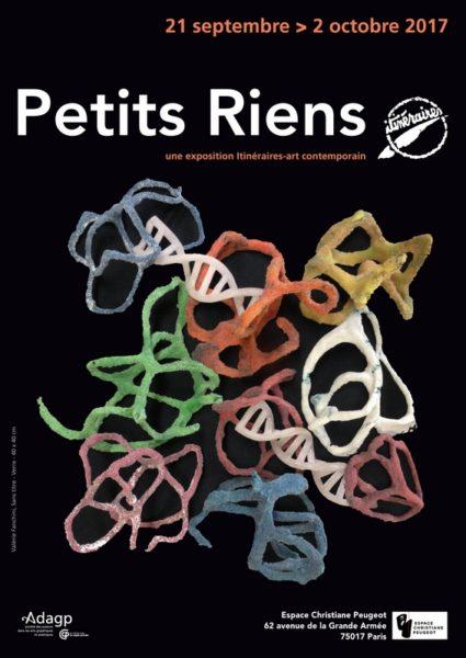 """Exposition """"Petits Riens"""" d'Itinéraires-art contemporain"""