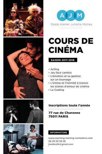 Cours de Cinéma- L'École Atelier Juliette Moltes