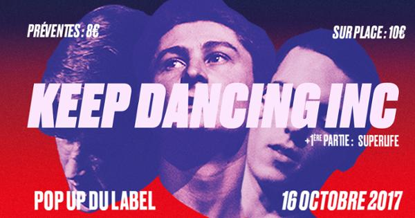 Keep Dancing Inc @ Popup!