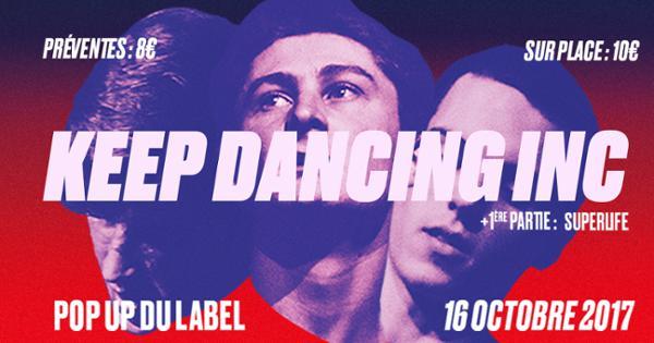 Keep Dancing Inc @ Popup!