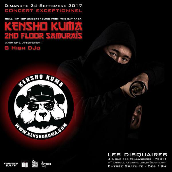 Kensho Kuma + DJ G-High Jo