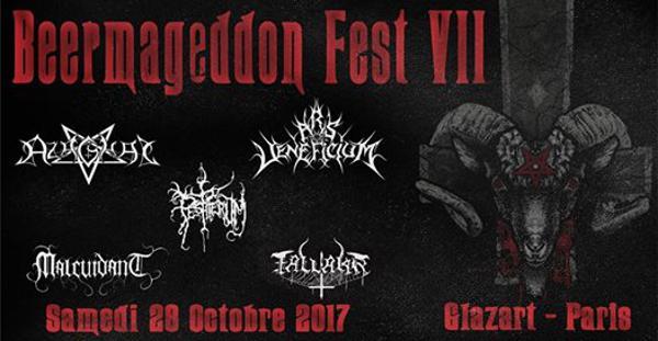 Beermageddon Fest 7 - Azaghal, Malcuidant, Pestiferum, Fallakr