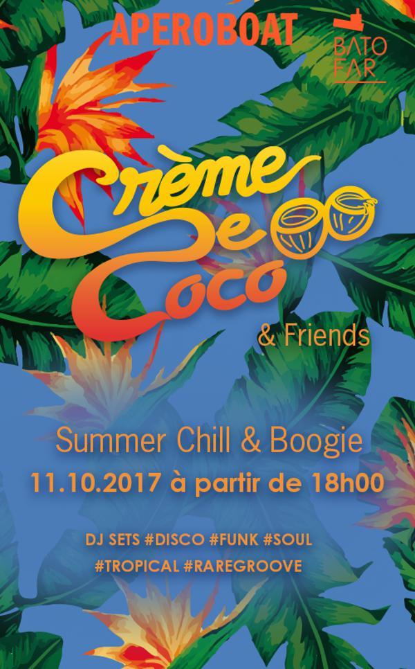APEROBOAT # CREME DE COCO