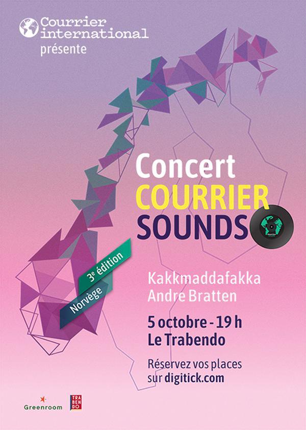COURRIER SOUNDS : KAKKMADDAFAKKA + ANDRE BRATTEN