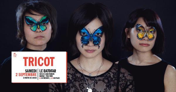 Concert: Tricot + Charbon @Batofar