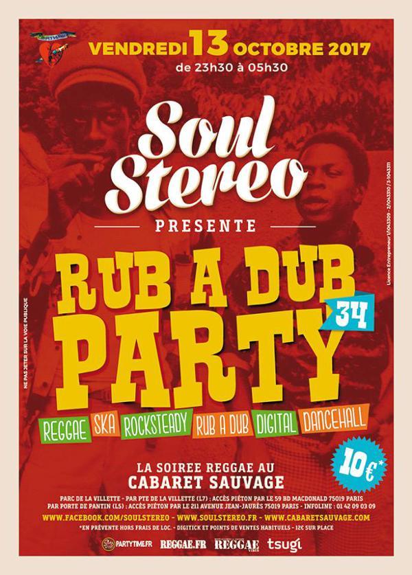 RUB A DUB PARTY #34