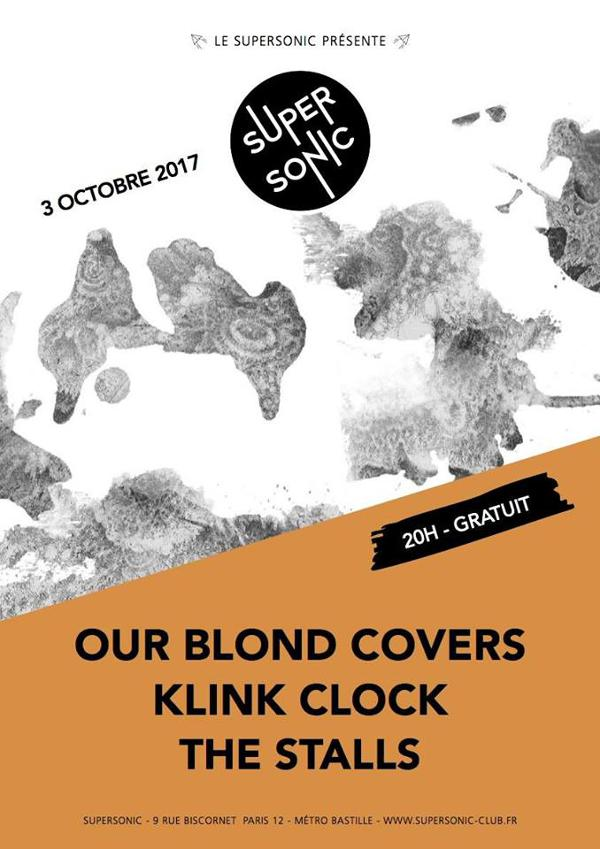 Klink Clock • The Stalls • Our Blond Covers / Supersonic - Free