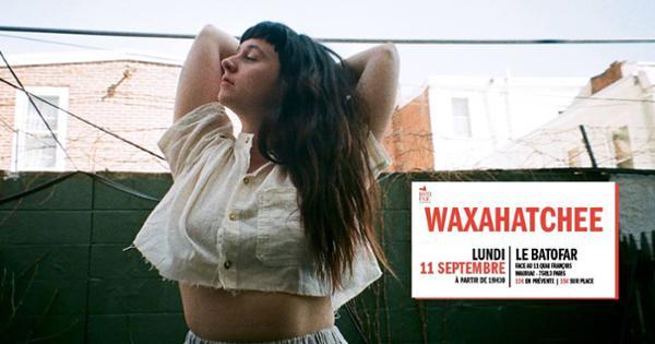 Concert: Waxahatchee + Allison Crutchfield @Batofar