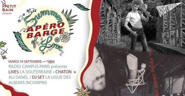 APEROBARGE INVITE RADIO CAMPUS PARIS