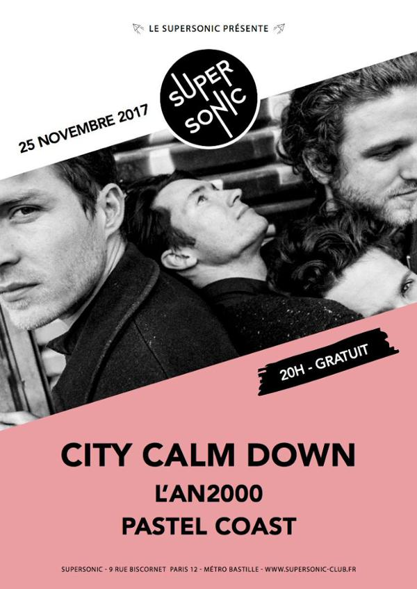 City Calm Down • L'An2000 • Pastel Coast / Supersonic - Free