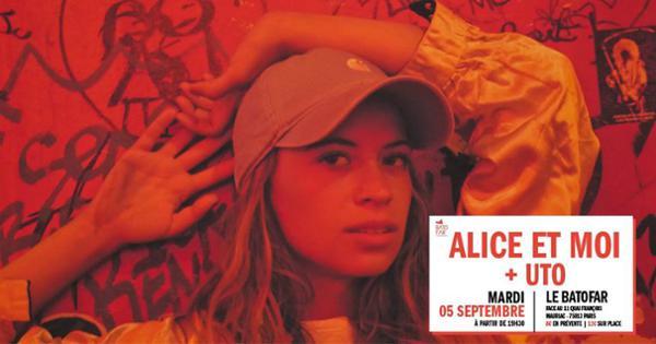 Concert Alice et Moi + UTO @Batofar