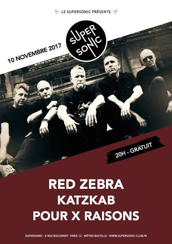 Red Zebra • Katzkab • Pour X Raisons / Supersonic - Free
