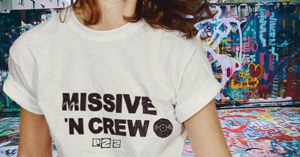 L'aérosol & Missive'N Crew invitent P2z