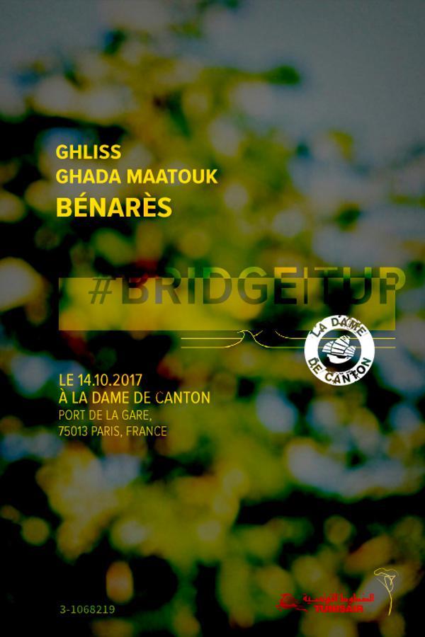 Soirée MACHMOUM : DJ GHLISS + GHADA MAATOUK + BÉNARÈS