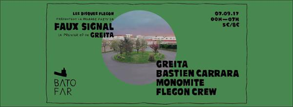 Disques Flegon 02 Release Party w/ Bastien Carrara & Monomite