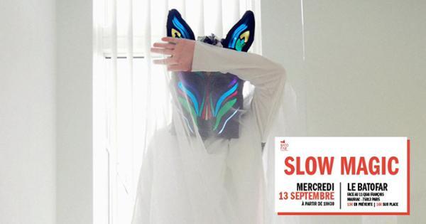 Concert Slow Magic + Ginger McCurly @Batofar