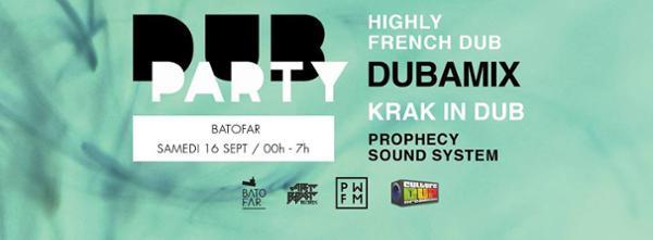 Dub Party - Dubamix / HFDub / Krak in Dub
