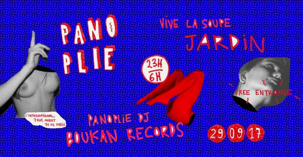 Panoplie #1 - Jardin • Boukan Records
