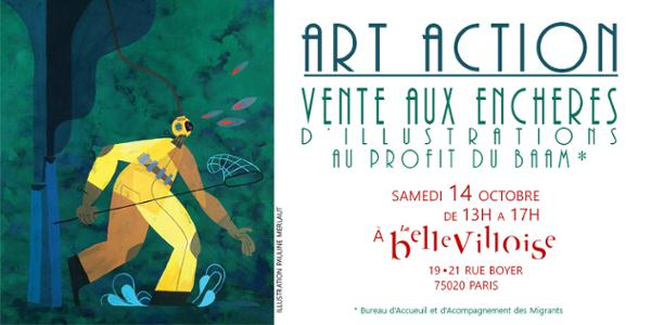 VENTE AUX ENCHERES ART ACTION