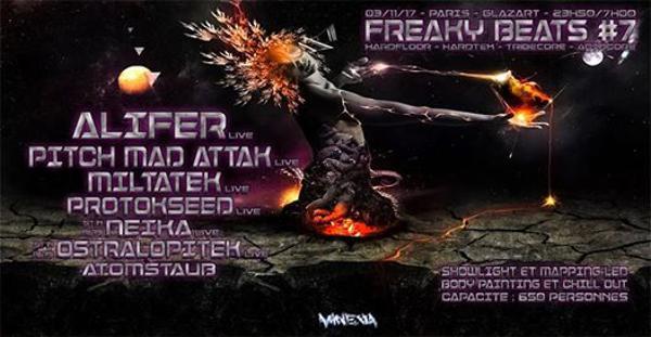 Freaky Beats #7 w/ Alifer / Pitch Mad Attak / Miltatek & more