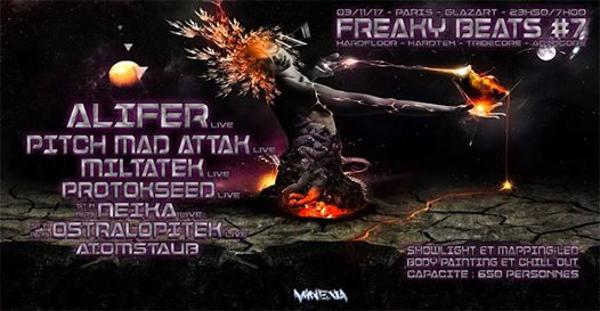 Freaky Beats #7 w/ Alifer / Pitch Mad Attak / Miltatek & more