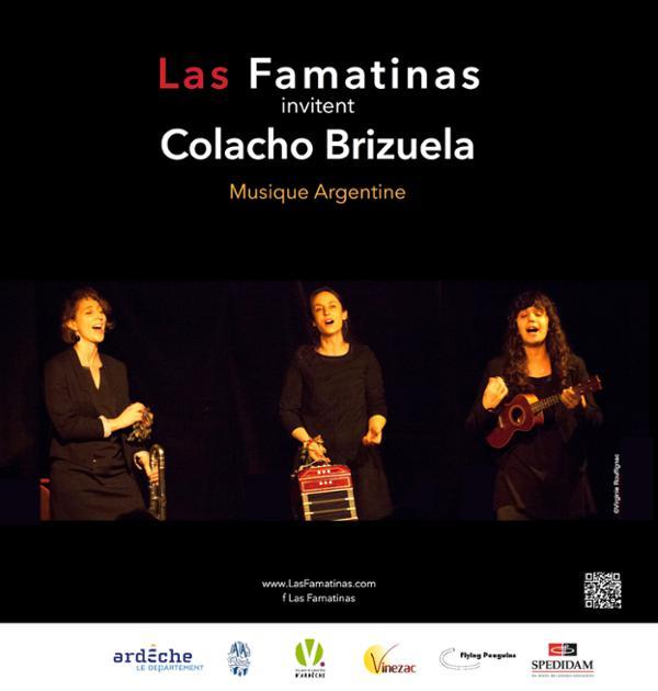 Las Famatinas invitent Colacho Brizuela