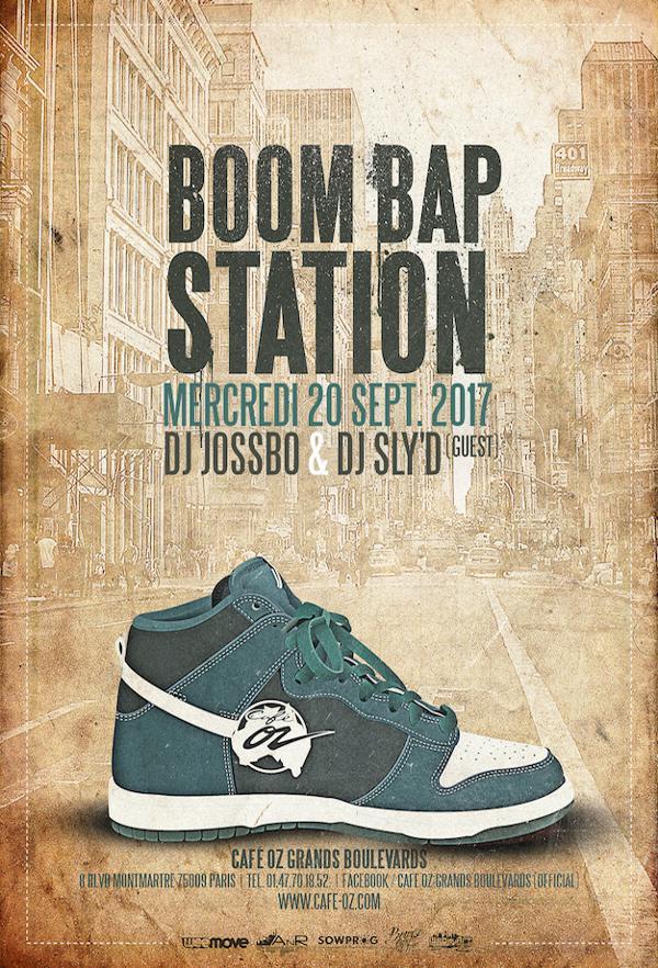 La Boom Bap Station fait sa rentrée !