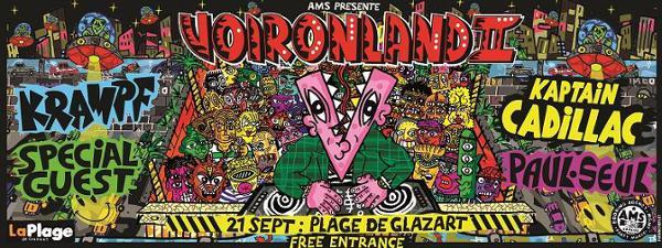 Voironland 2 - La Free Party w/ Voiron, Paul Seul, Krampf & more