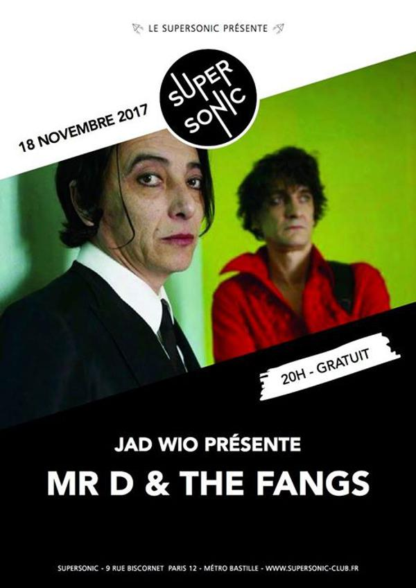 Mr.D & The Fangs ( JadWio side project ) • Tazieff • Nick Grey & The Random Orchestra