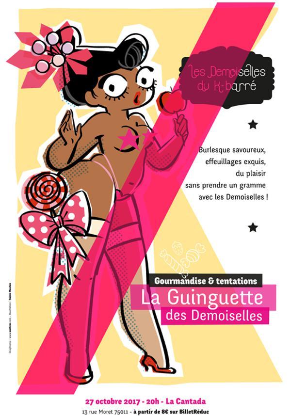 La Guinguette des Demoiselles N°8: Gourmandises & Tentations