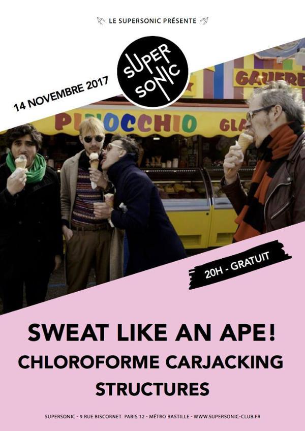 Sweat Like An Ape! • Structures • Chloroforme Carjacking / Free