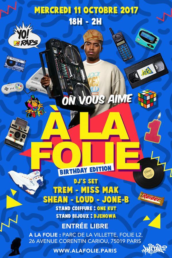 On VOUS AIME a La Folie - Birthday Edition