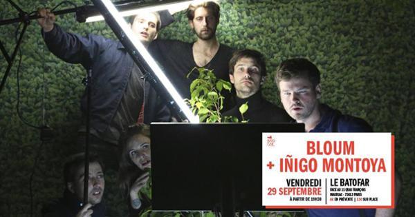 Concert : Bloum + Iñigo Montoya @Batofar