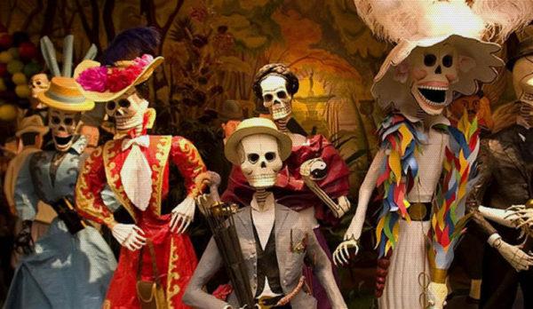 Fêtons la Catrina, Halloween, version mexicaine