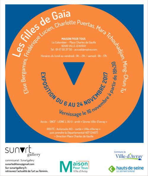 """Exposition collective : """" les Filles de Gaïa """""""