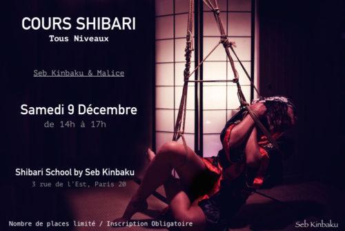 Atelier Shibari Tous Niveaux / Shibari School by Seb Kinbaku