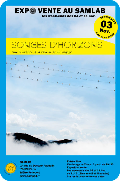 Expo vente photographique - Songes d'Horizons